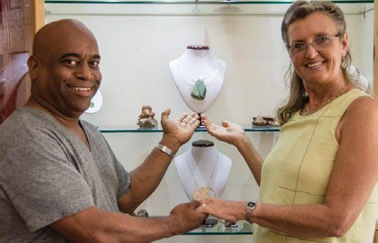 Eva & William , Lisa's Grenada